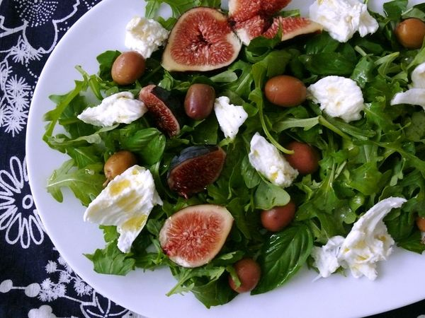 figs in a sexy salad : LeSauce