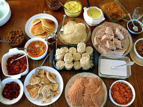 Sri lankan breakfast feast lesauce