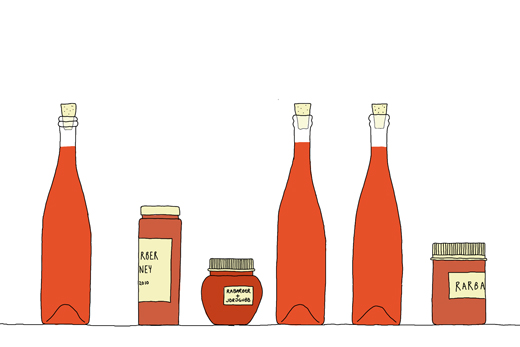 tempting: illustrated food blogs