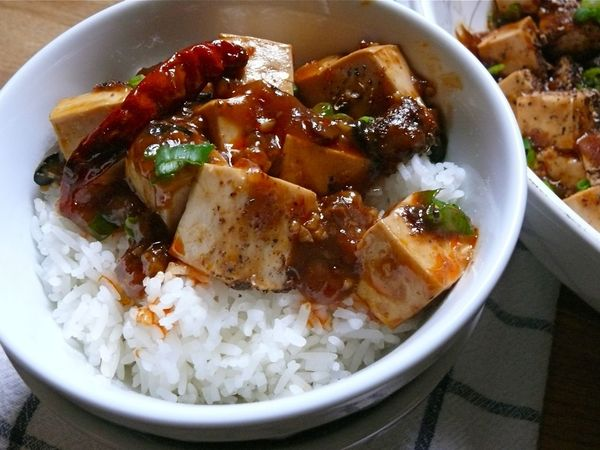 Check out Jenny's blog for her post and photos of our mapo tofu!
