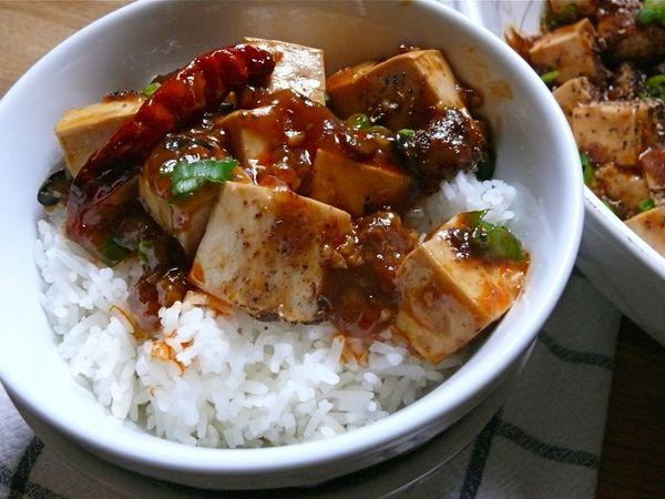 vegetarian mapo tofu : LeSauce
