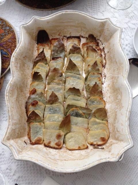 roasted domino potatoes : LeSauce