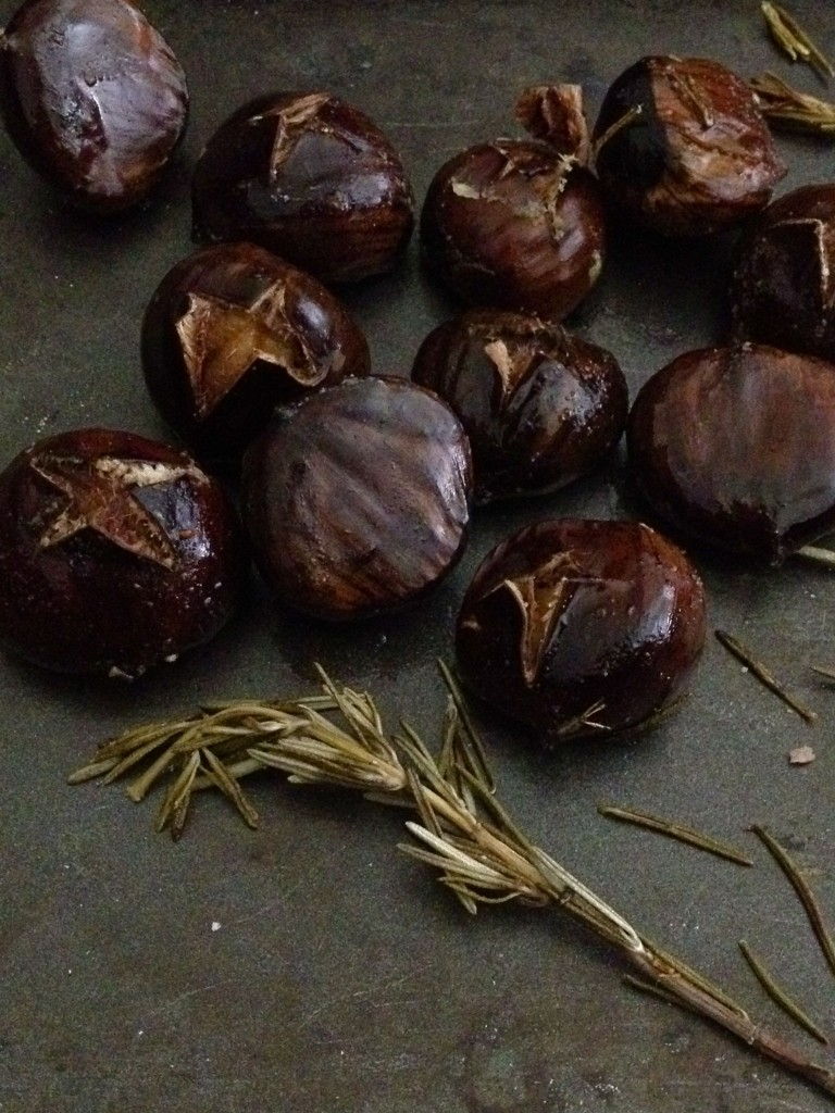 butter-roasted chestnuts